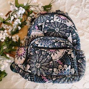 Vera Bradley Purple and Grey Backpack